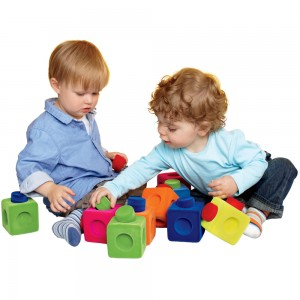 rubber kids blocks